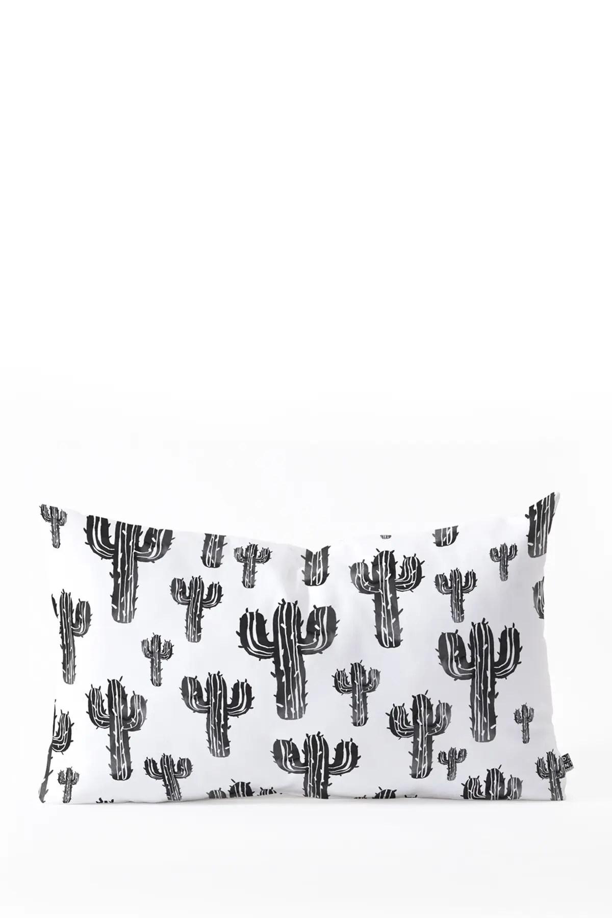 deny designs susanne kasielke cactus party desert oblong throw pillow nordstrom rack