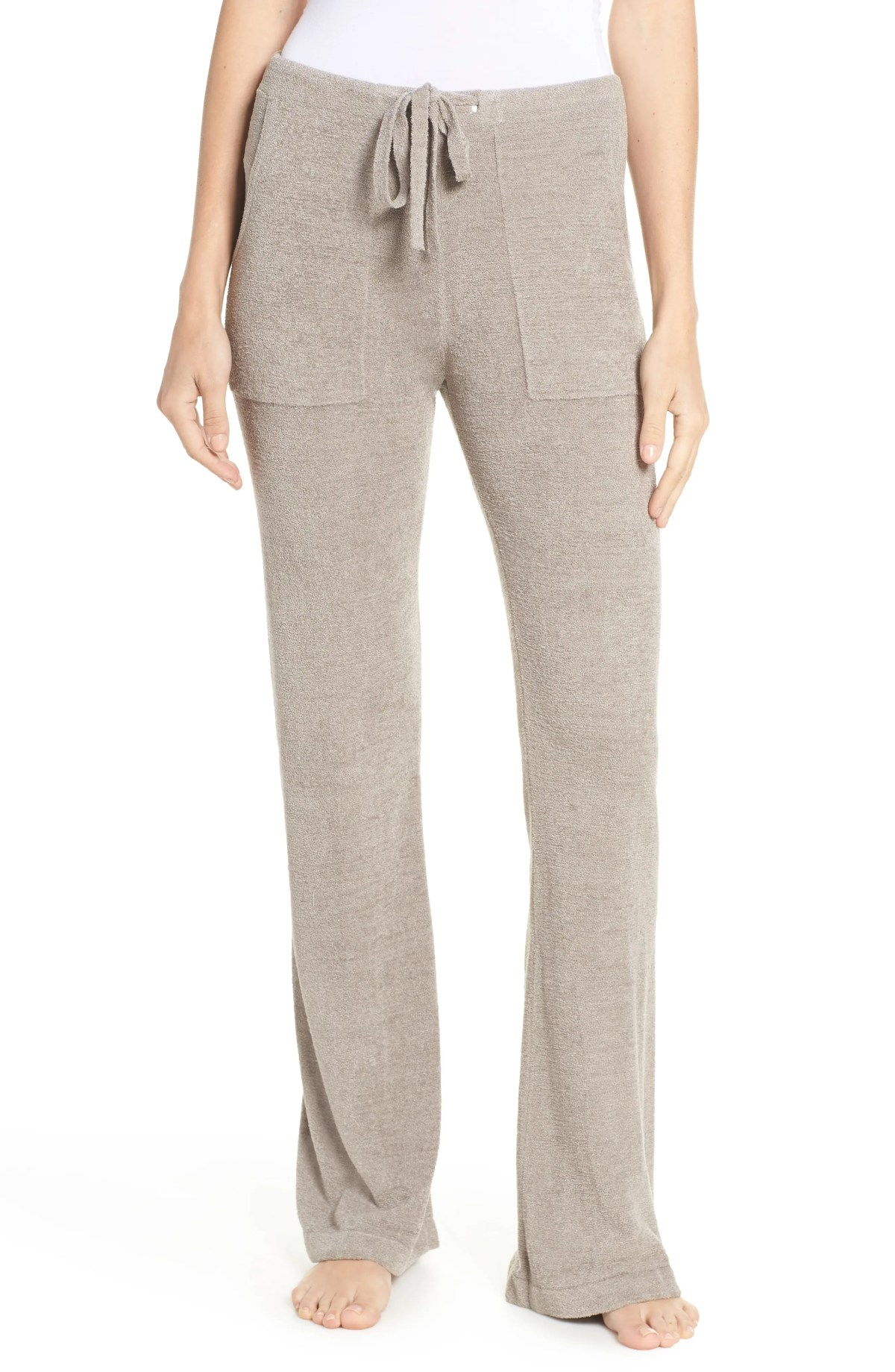 BAREFOOT DREAMS<SUP>®</SUP> CozyChic<sup>™</sup> Ultra Lite Pants, Main, color, BEACH ROCK