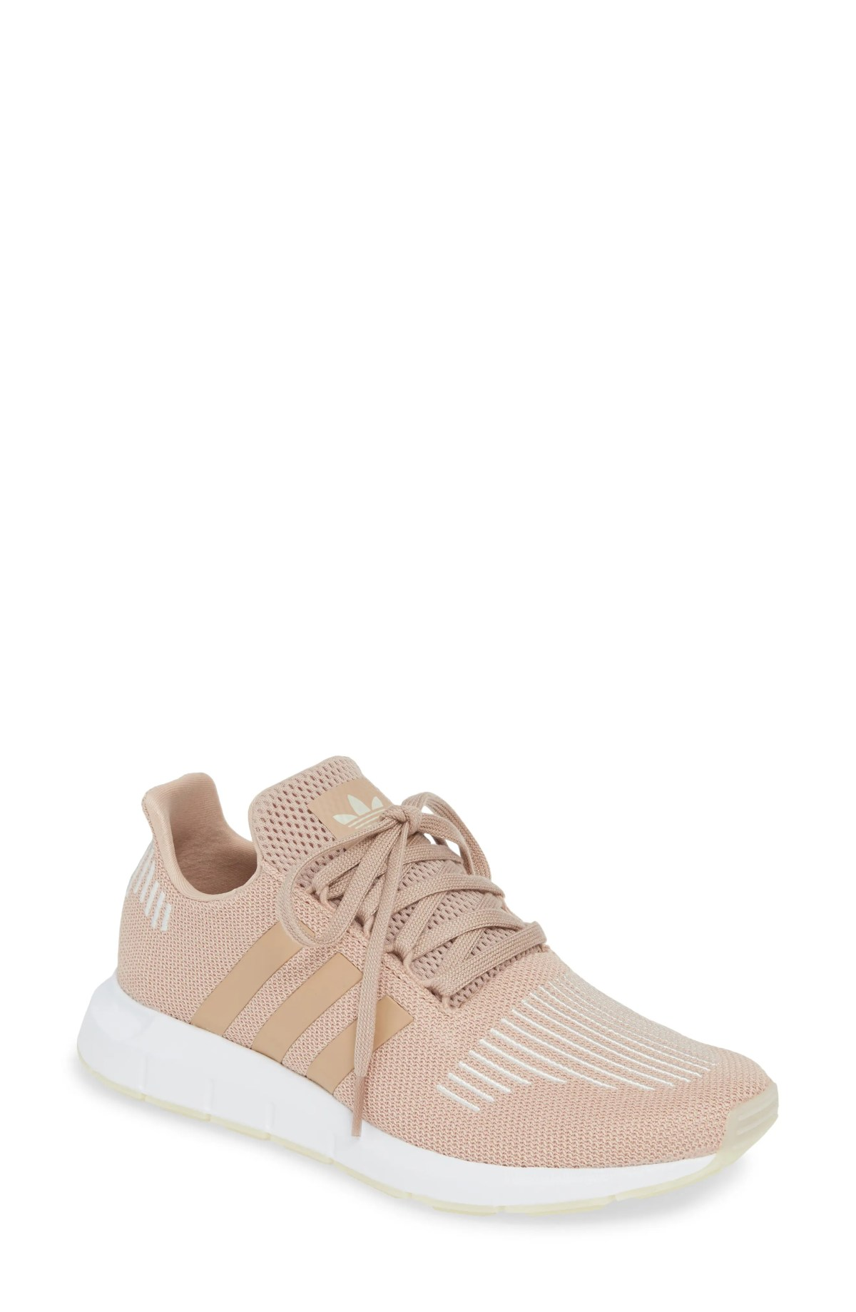 ADIDAS Swift Run Sneaker, Main, color, ASH PEARL/ OFF WHITE/ WHITE