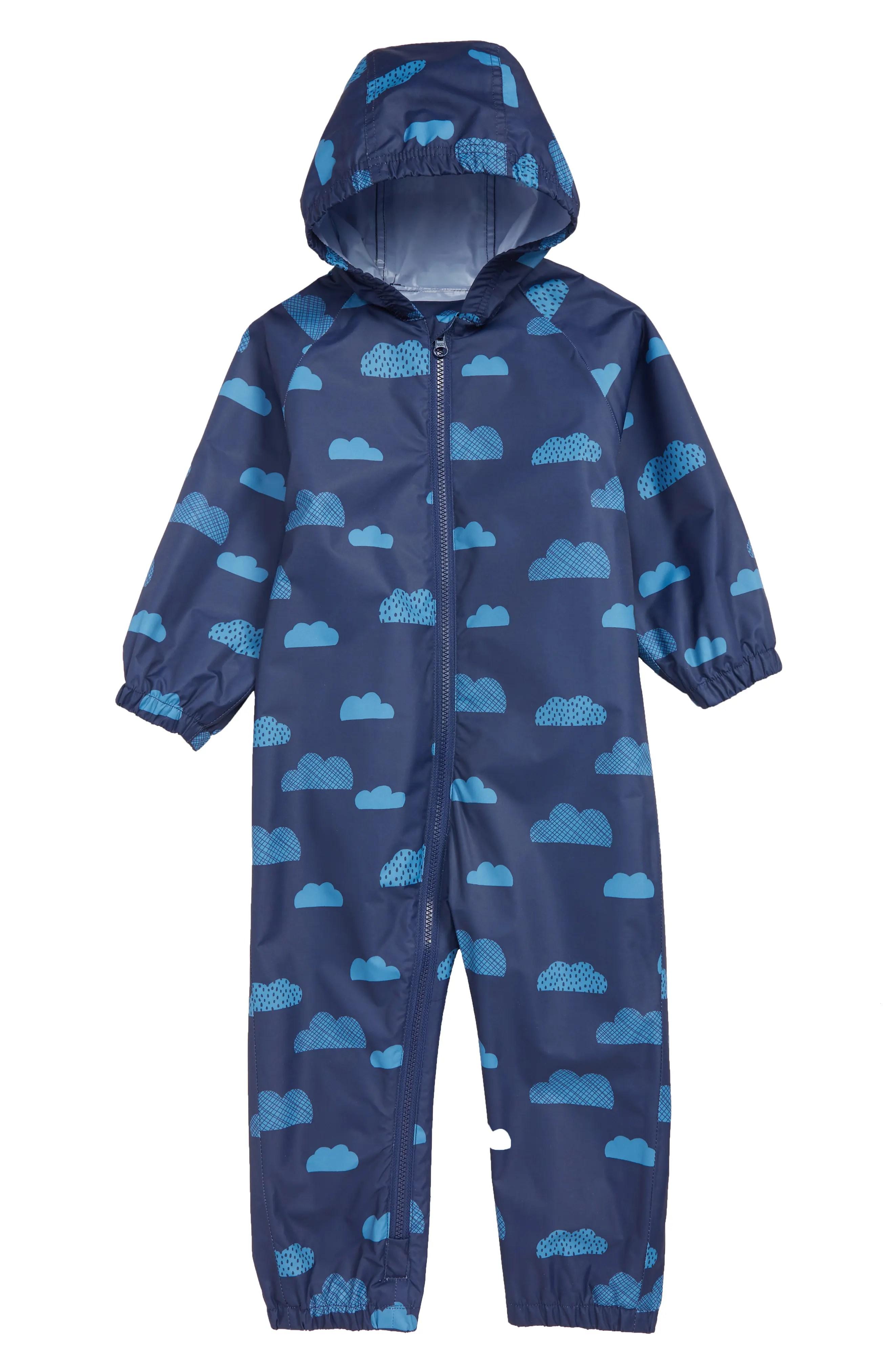 mini boden clouds waterproof hooded rain suit nordstrom rack