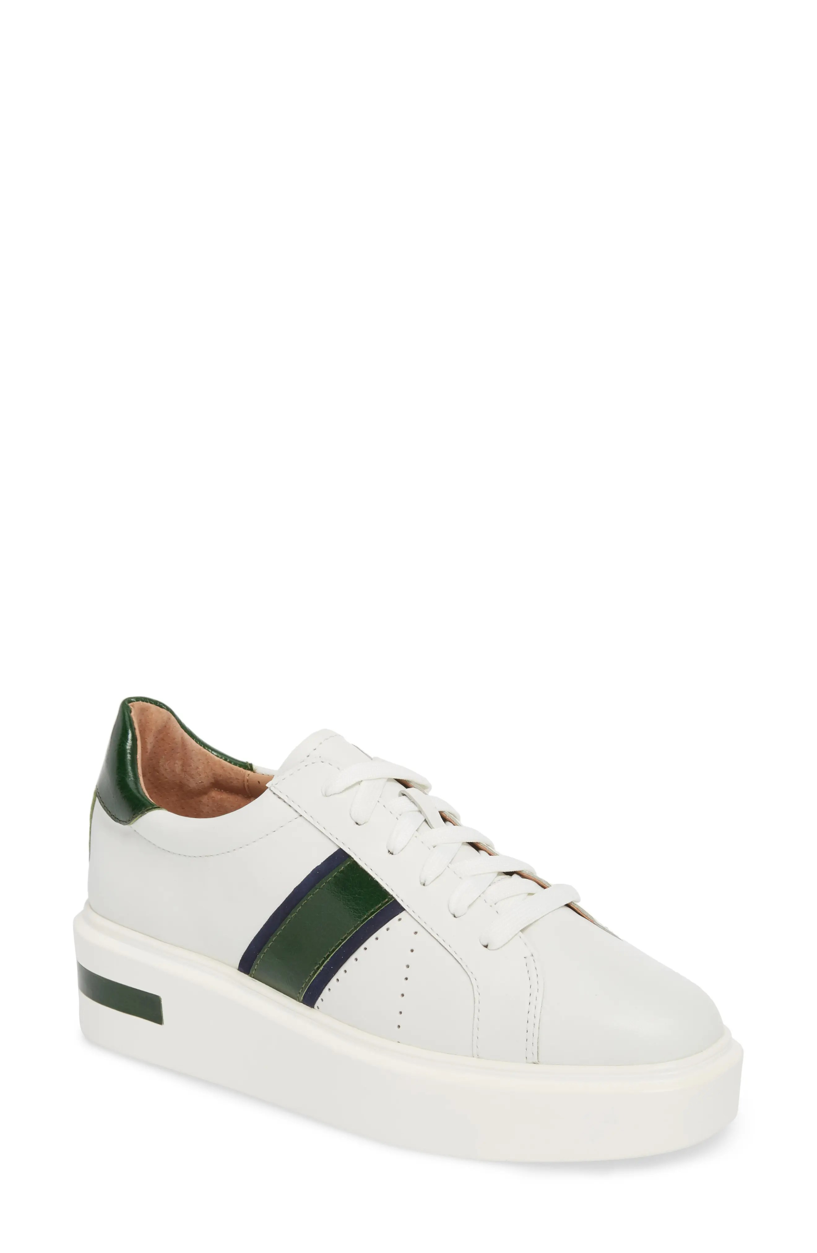 linea paolo knox lace up platform sneaker nordstrom rack