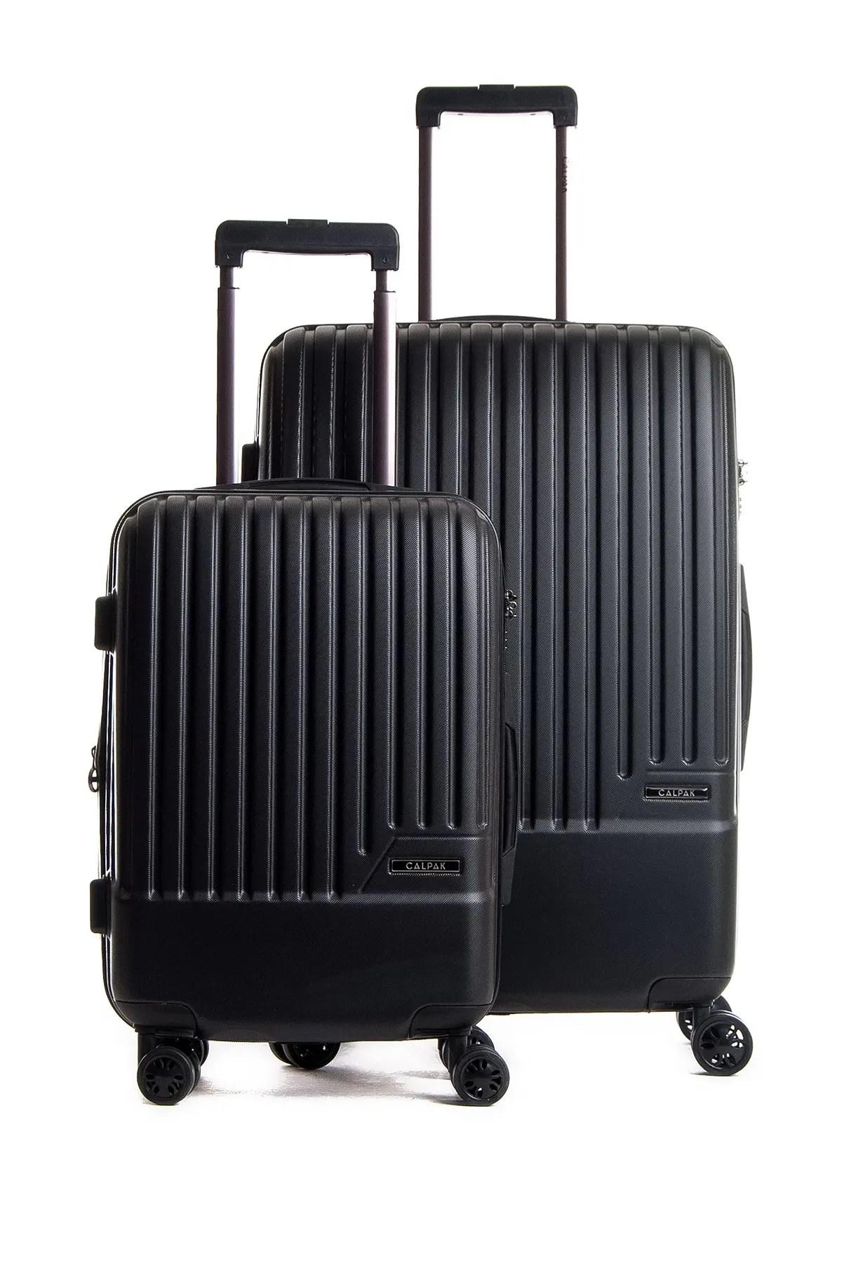 calpak luggage davis 2 piece spinner hardside luggage set nordstrom rack