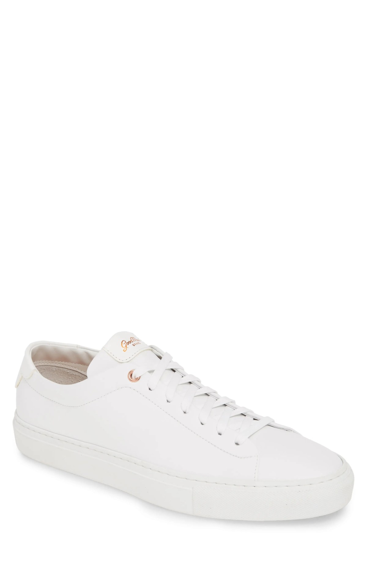 GOOD MAN BRAND Edge Sneaker, Main, color, WHITE LEATHER