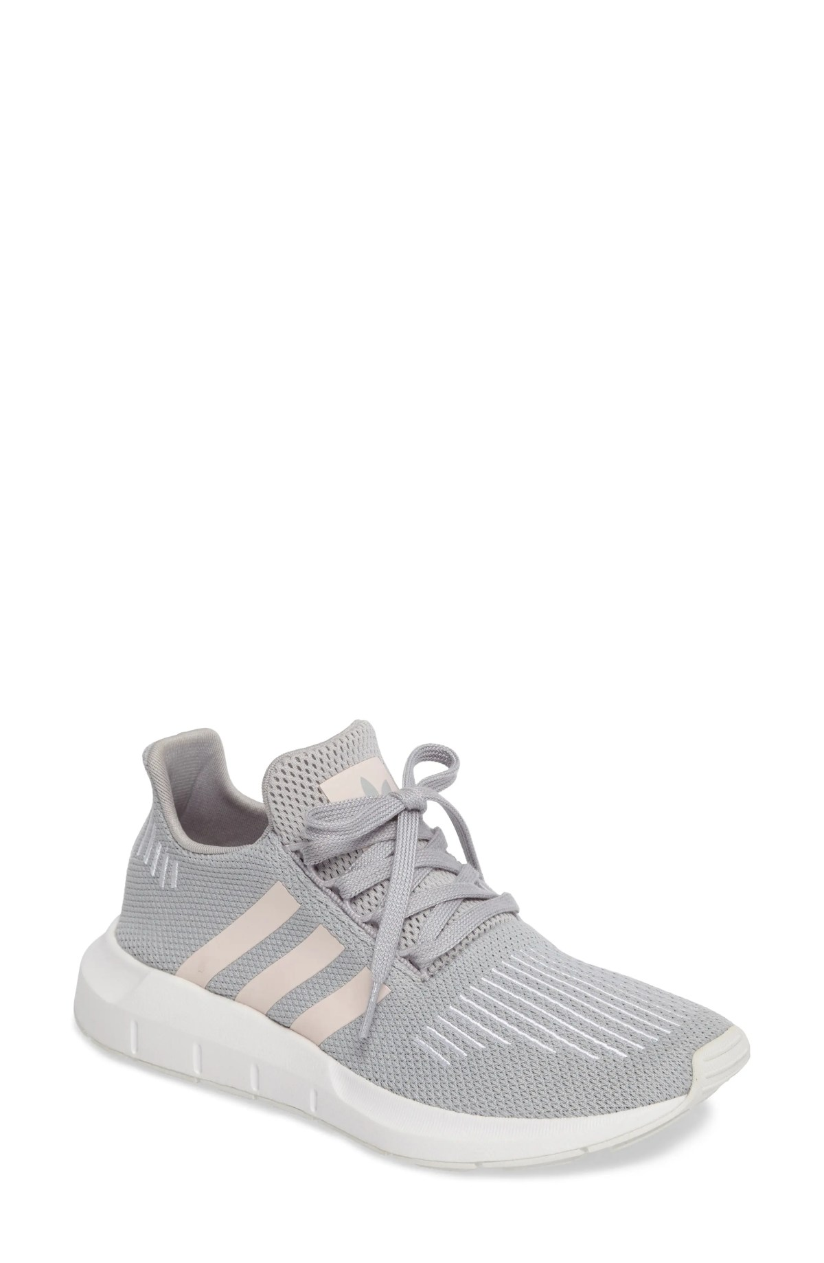 ADIDAS Swift Run Sneaker, Main, color, GREY/ ICEY PINK