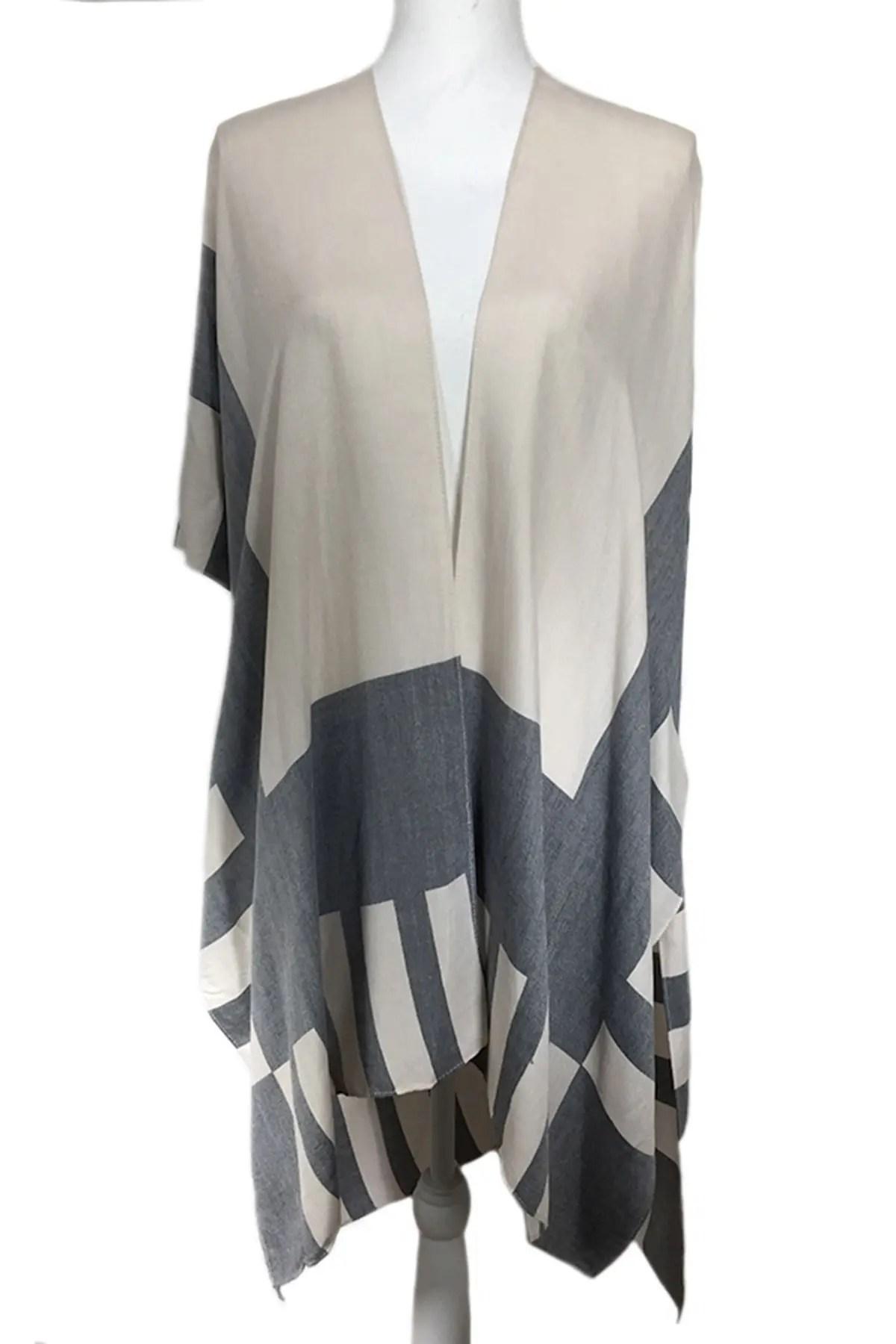 modena lightweight stripes solid mix kimono nordstrom rack