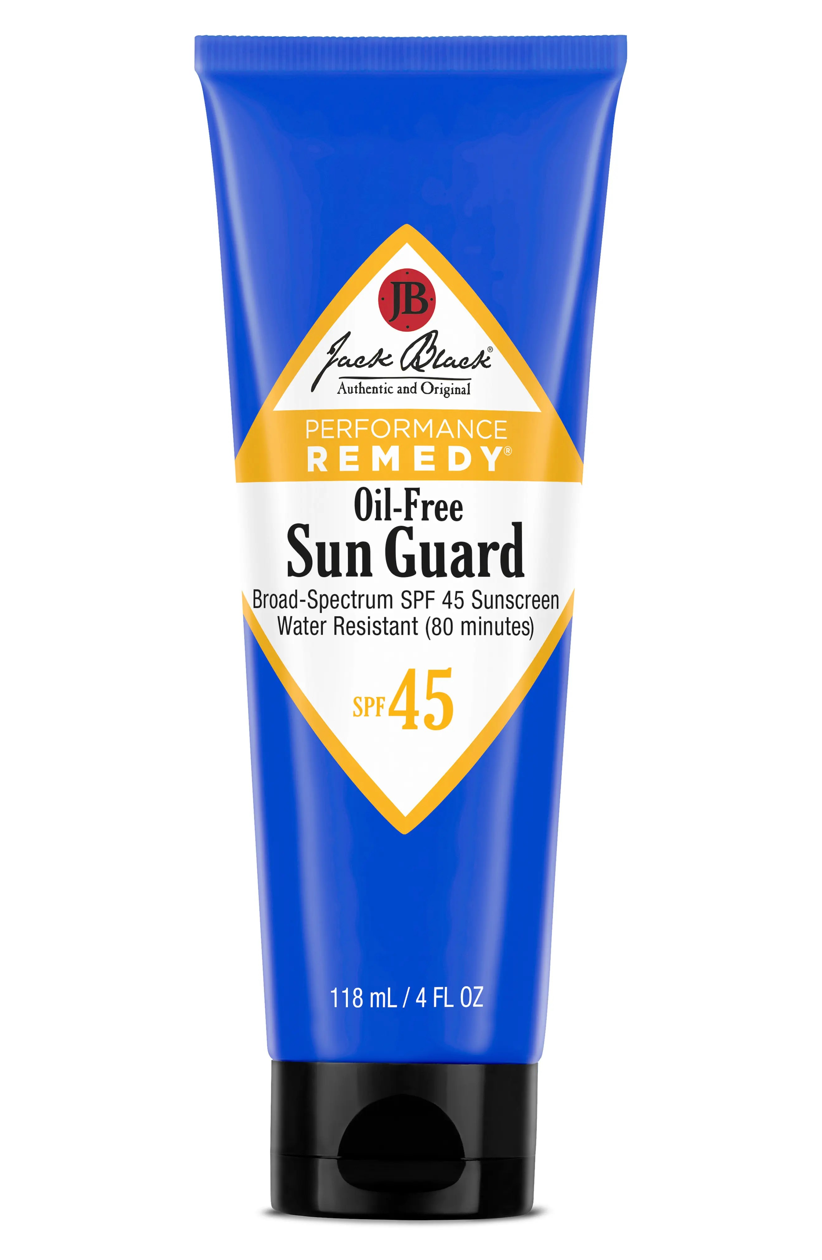 Jack Black Sun Guard Water Resistant Sunscreen Spf 45, Size 4 oz