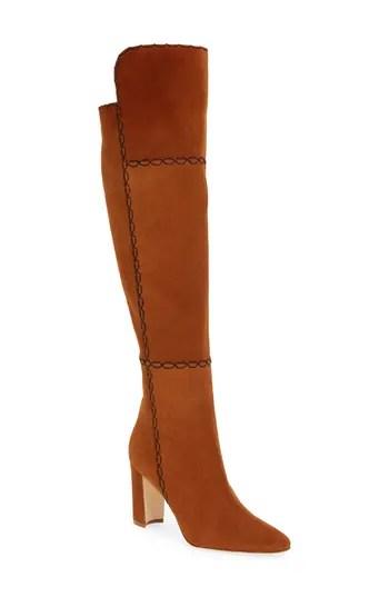 Women's Manolo Blahnik Rubiohi Over The Knee Boot, $1795.0