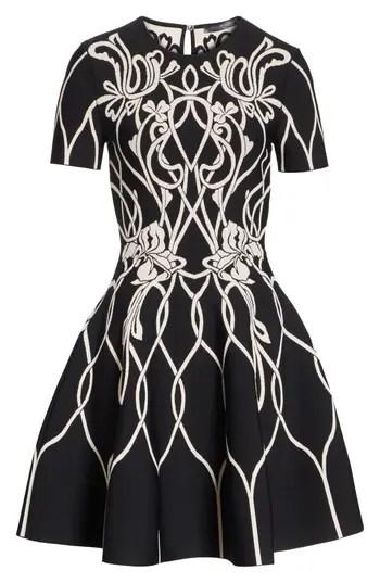 f801807f96 Women's Alexander Mcqueen Art Nouveau Jacquard Knit Dress – NORDSTROM.com –  $2,245.00