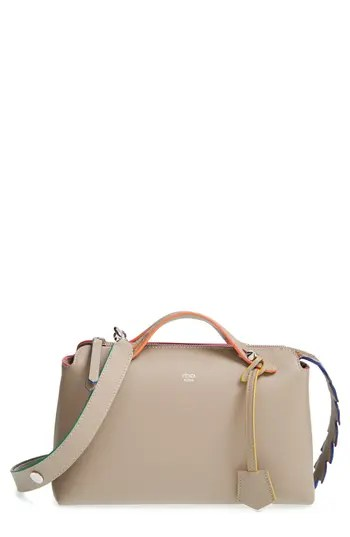Fendi  Small By The Way – Croc-Tail  Convertible Leather Shoulder Bag –  Beige – NORDSTROM.com –  2 239438aab75e6