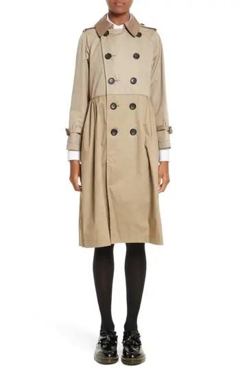Women's Tricot Comme Des Garcons Reversible Trench Coat, $1273.0