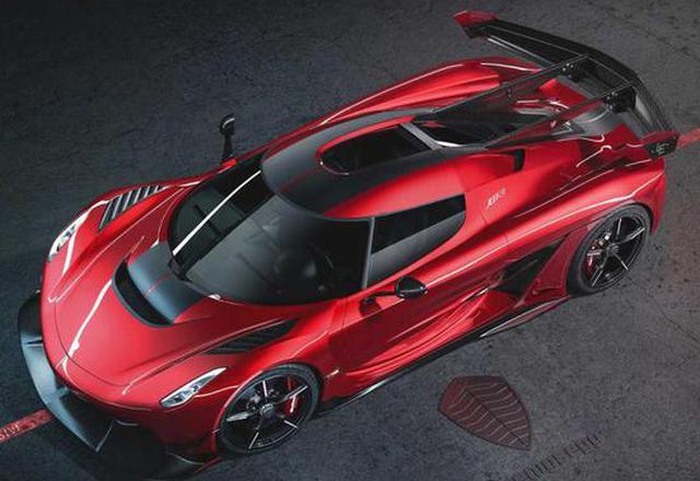 科尼賽克Jesko Red Cherry Edition特別版-新浪汽車