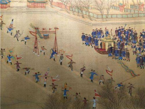 """中國古代花樣滑冰的""""黃金年代""""_新浪讀書_新浪網"""