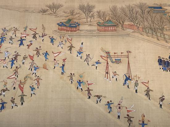 八百多文物還原清宮年俗:看紫禁城里如何過大年|紫禁城|文物_新浪收藏_新浪網