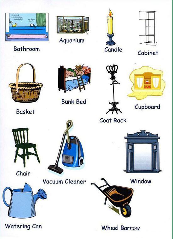 這些日常生活用品的英文名稱 你都知道嗎?|日常生活用品|英文|名稱_新浪教育_新浪網