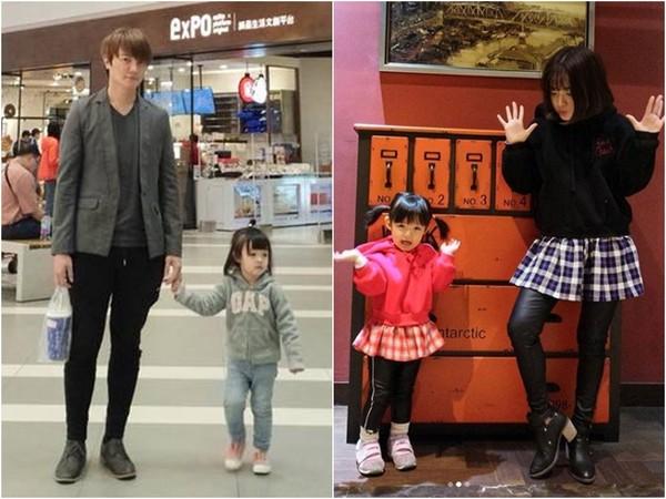 嬌妻身高一米四八!阿沁兩歲女兒竟有名模身高 阿沁 嬌妻 飛兒樂隊_新浪娛樂_新浪網
