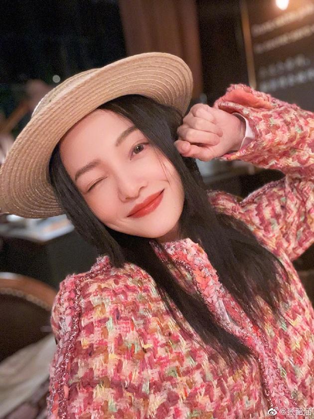 张韶涵生日自拍