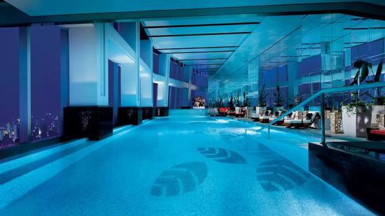 皇室級泳池酒店 這么美還讓不讓人好好游泳了|泳池|酒店_新浪時尚_新浪網