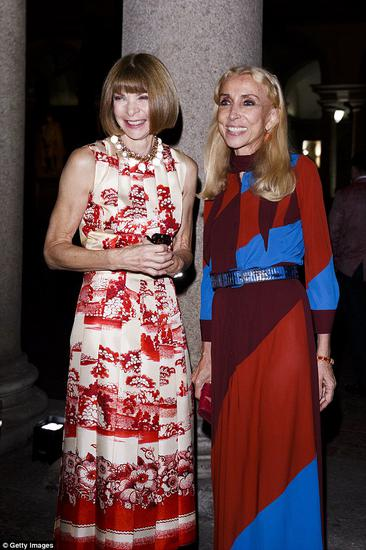 Anna Wintour daughter and former Vogue of the Italy edition editor son engagement