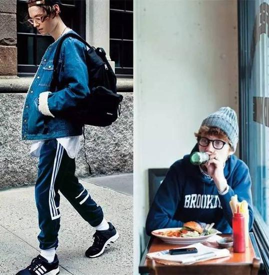 The Japanese men's clothing brand Beams boy