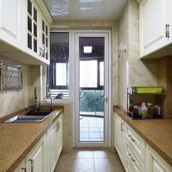 Updated Kitchens Kitchen Cabinet Accessories 厨房旁边的小阳台 学学聪明人 这样设计更新潮 阳台 厨房 屋主 新浪网