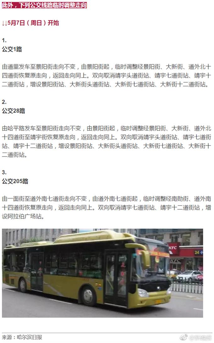 哈爾濱地鐵沿線最新封道通告 涉及道外多條街路_新浪黑龍江_新浪網