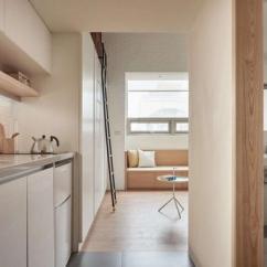 How To Redesign A Kitchen Overstock Sinks 22平方米蜗居重新装修这样设计妙极了 厨房 夹层 收纳柜 新浪网