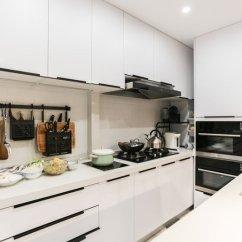 Renovated Kitchen Rooster Rugs For The 墙面翻新和厨房改造 哪个先做 墙面 厨房 瓷砖 新浪网