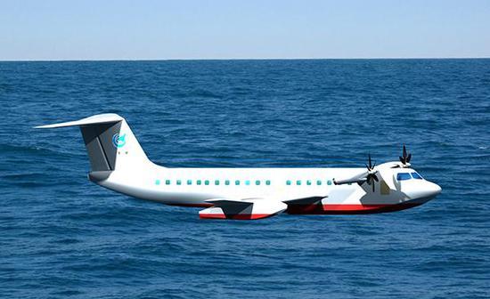 中国正在研发的H660海面效应船紧贴海面飞行