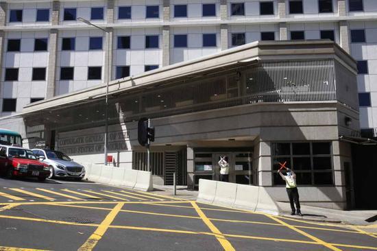 港媒:美駐港澳總領事館計劃大規模裝修 找樓面搬遷遇阻_新浪新聞