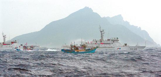 蔡當局對日本給釣魚島改名冷處理 臺媒痛批_新浪新聞