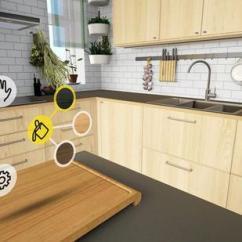 How To Redesign A Kitchen Designer Faucets Vr厨房全新体验宜家让你在vr里煎饼 根据你家人和孩子的高度来重新设计柜子的高度