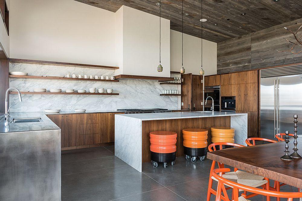 kitchen tops wood white carts 欧美家居 10套大理石和木材结合的现代化厨房 欧美新潮流 财经头条 除了木材的温暖之外 大理石的精致优雅似乎成为首选 因为尖端的厨房组合物被选择性地铺在大理石中 在厨房添加木材和大理石比听起来容易 虽然这些厨房中的许多确实