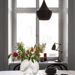Brass Kitchen Hardware Retro Furniture 厨房设计 灰色调与拉丝黄铜五金 干净又复古historiska 黄铜 五金 复古 新浪网