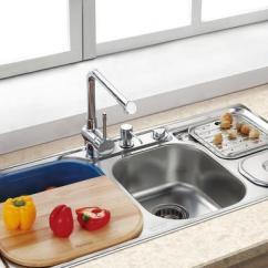 Compact Kitchen Sink Wall Art Ideas 单槽 双槽 台上 台下盆 厨房水槽怎么装 退休老师傅直言真相 厨房水槽怎么