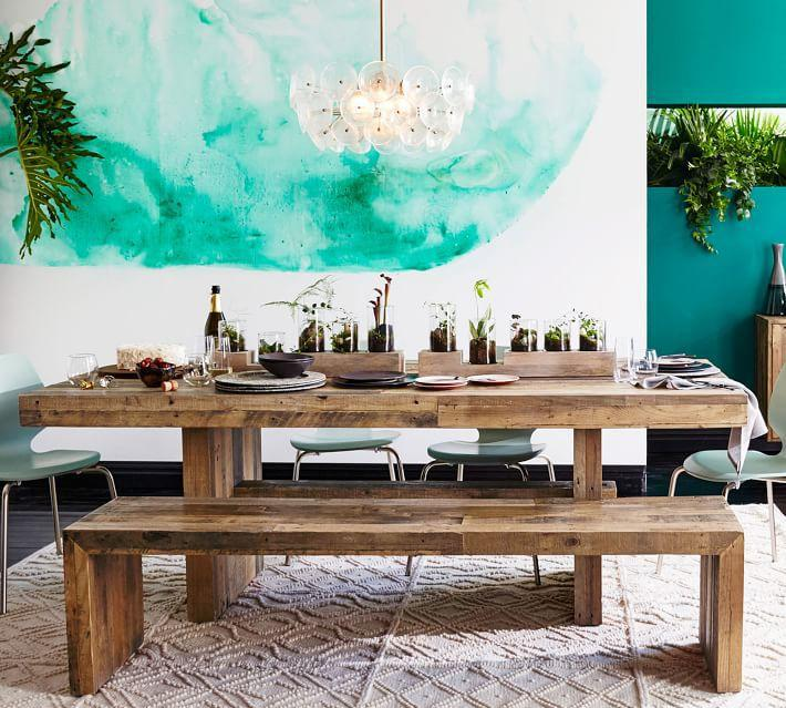 settee for kitchen table equipment 欧美家居 16种 欧式创意室内 野餐桌 不仅仅是时尚 财经头条 将一个填满角色的作品 如带抽屉的古董英式松木农场桌子