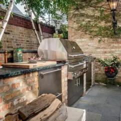 Outdoor Kitchen Hood Cabinets Knobs 户外厨房听着离谱贼实用 省去油烟机还能到处跑 一起烧烤美滋滋 厨房