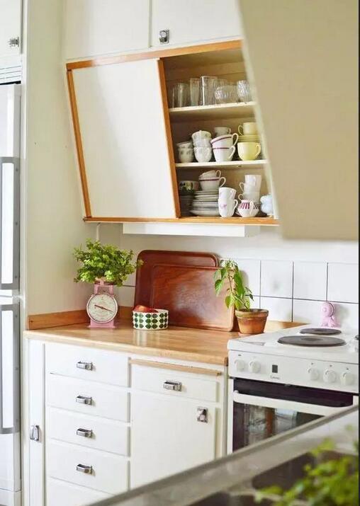 kitchen designer software cabinet drawers 厨房倾斜式吊柜比传统吊柜更实用 设计师特别推荐 省空间还美观 吊柜