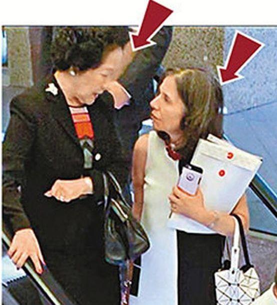 美国驻港澳总领事馆政治部主管Julie Eadeh于8月6日曾与陈方安生秘密见面。来源:大公网