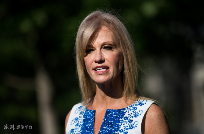 Former White House consultant Conway Source: The Paper