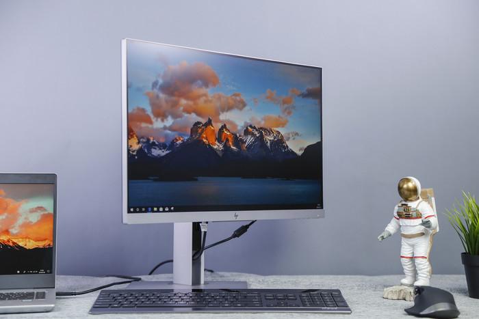 惠普E243d顯示器評測:專為筆記本而來的顯示器