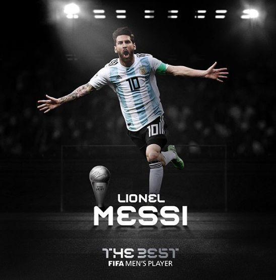 梅西當選2019FIFA世界足球先生 六次榮膺創紀錄_國際足球_新浪競技風暴_新浪網