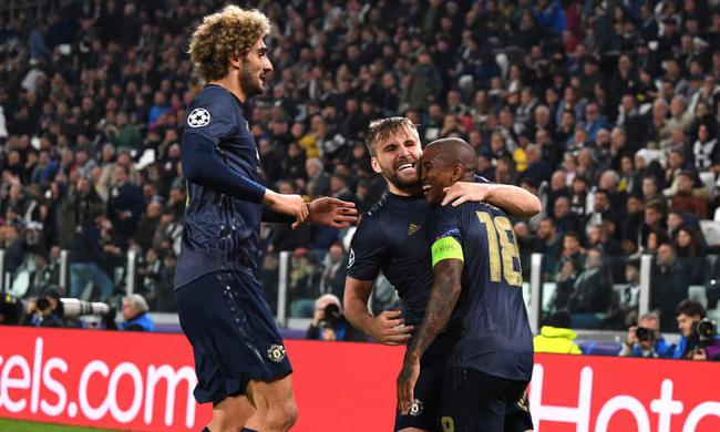 Champions League Manchester United 2-1 reverse win on Juventus 13