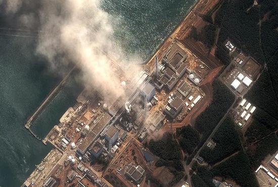 图片:2011年3月14日,福岛第一核电站3号反应堆爆炸。 图片来源:新华社