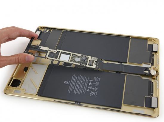 iPad Pro拆解:電池容量毫安時過萬