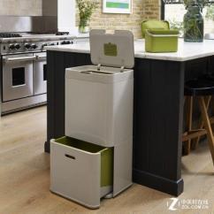 Kitchen Trash Bin Stainless 厨房垃圾不再有味新型垃圾桶问世 垃圾桶 过滤器 新浪科技 新浪网 新奇厨房专用垃圾桶问世