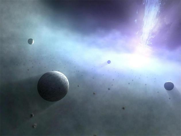 黑洞和中子星加速它們周圍的物質,是高能量現象的來源,但它們產生於大品質恆星的死亡。 這些恆星殘骸是前幾代恆星生存、死亡並豐富了星際介質的最後證據