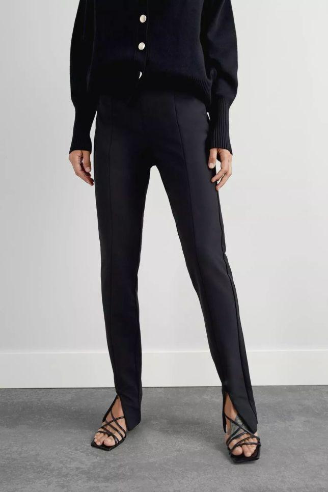 黑色打底褲等於不時髦?李沁第一個表示不服