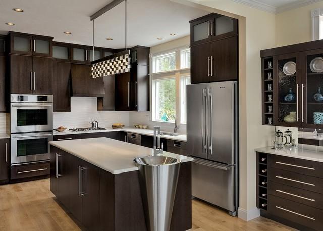 kitchen dishwashers traditional faucets 欧美人都在用为何洗碗机在中国还不火 洗碗机 餐具 欧美 新浪科技 新浪网 欧美的开放式厨房
