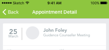Appointment Detail