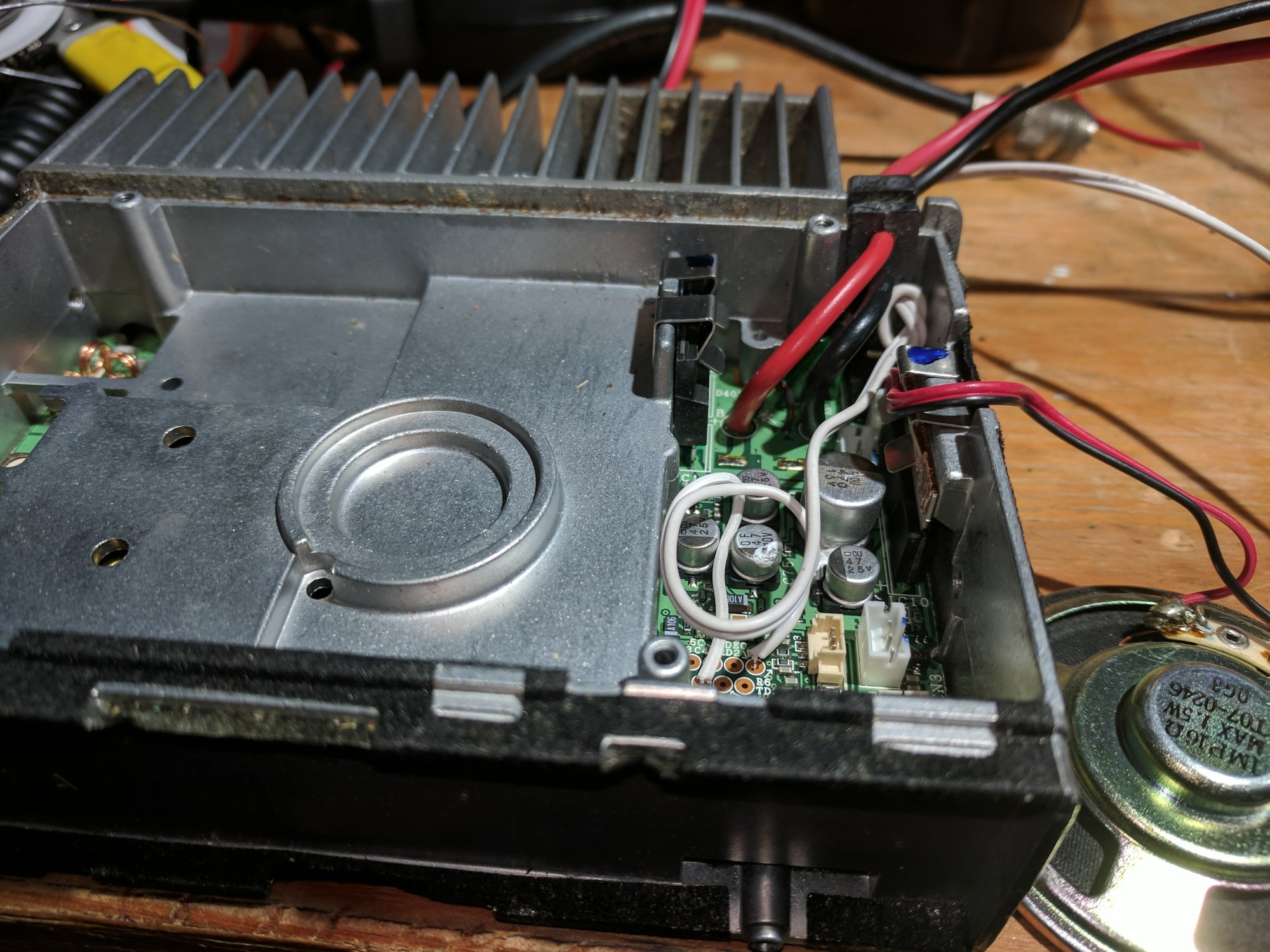 hight resolution of label your wires or use different colored wires or whatever you need to do to tell them apart reassemble the radio and we ll move on to programming